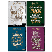 Harry Potter - Quaderno Maxi Magic - Prodotto ufficiale Warner Bros Entertainment Inc
