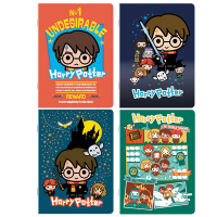Harry Potter - Quaderno Maxi Chibi Cartoon - Prodotto ufficiale Warner Bros Entertainment Inc
