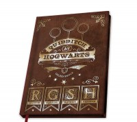 Harry Potter - Quaderno A5 Quidditch - Ufficiale © Warner Bros
