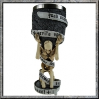 Gotico - Calice The Truth Goblet - Resina - Dipinto a mano