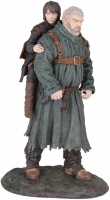 Game Of Thrones - Gadget - Action Figure - Hodor e Bran - Ufficiale