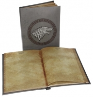 Game Of Thrones - Gadget - Quaderno - Stark - Quaderno Luminoso - Ufficiale