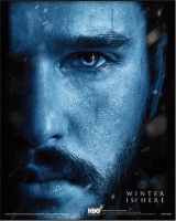 Game of Thrones - Quadro 3D Jon vs Nignt king - Prodotto Ufficiale HBO