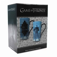 Game of Thrones - Tazza Cambiacolore Winter is coming - Ceramica - 500 mml - Prodotto Ufficiale HBO