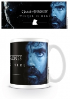 Game of Thrones - Tazza Tyrion Winter is Here - Ceramica - Prodotto Ufficiale HBO