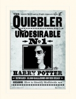 Storia e Magia - Harry Potter - Gadget - Passepartout Indesiderabile n°1 - Quibbler - Prodotto ufficiale © Warner Bros. Entertainment Inc.