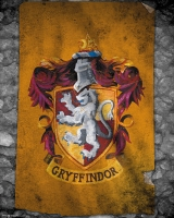 Harry Potter - Mini Poster - Stendardo Grifondoro - Prodotto ufficiale © Warner Bros. Entertainment Inc.