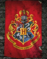 Storia e Magia - Harry Potter - Mini Poster - Hogwarts Flag - Prodotto Ufficiale Warner Bros.