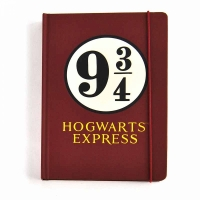 Harry Potter - Quaderno A5 - Binario 9 34 - Prodotto ufficiale © Warner Bros. Entertainment Inc.