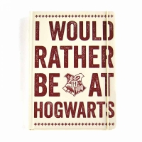 Harry Potter - Quaderno A5 - Hogwarts Slogan - Prodotto ufficiale © Warner Bros. Entertainment Inc.