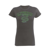Harry Potter - T-shirt Donna -  Serpeverde Sport - Cotone - Prodotto ufficiale © Warner Bros. Entertainment Inc.