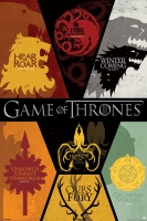 Game of Thrones - Poster Casate - Prodotto Ufficiale HBO