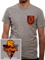 Harry Potter - T-Shirt Cercatore Grifondoro Quidditch - Prodotto ufficiale © Warner Bros. Entertainment Inc.
