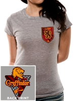 Harry Potter - T-Shirt da Donna Cercatrice Grifondoro Quidditch - Prodotto ufficiale © Warner Bros. Entertainment Inc.